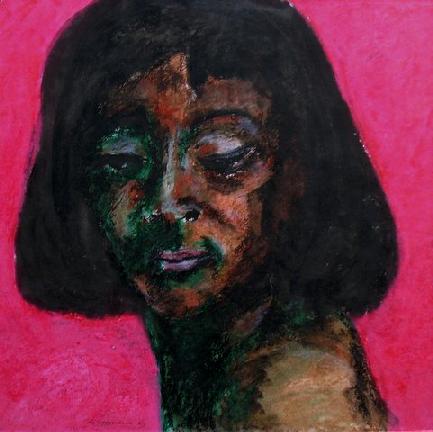 Nina Simone gewassen vetkrijt